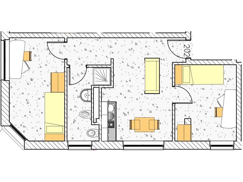Appartamento 202