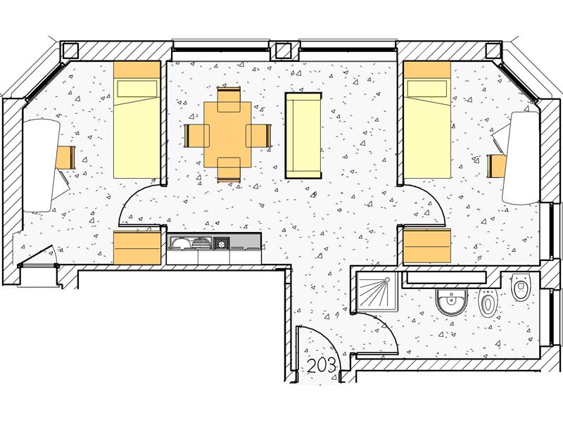 Appartamento 203